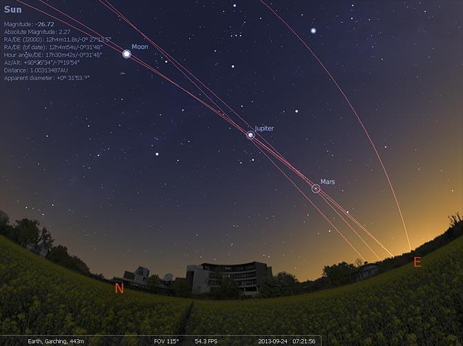 Stellarium v0.14.3