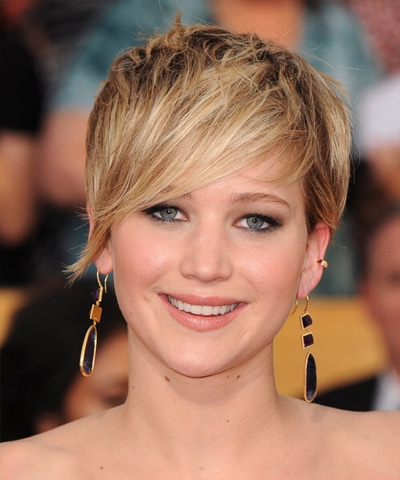 Graceful Hair Makeover Jennifer Lawrence Hairstyles