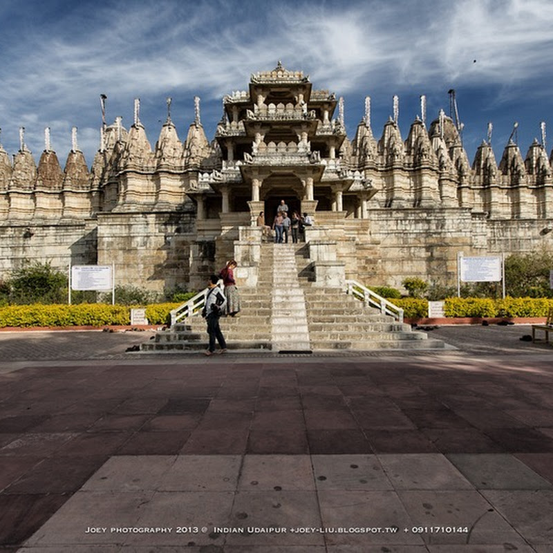 The 1,444 Carved Pillars of Ranakpur Jain Temple No Two of Which Are Alike