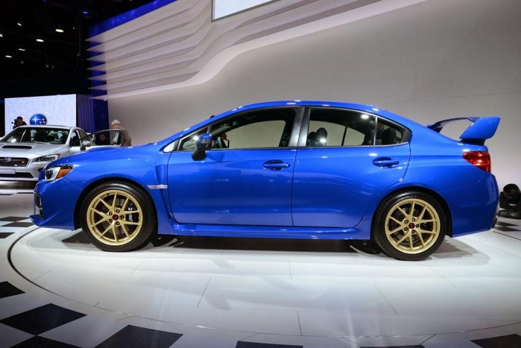 2015 Subaru WRX STI NAIAS 5