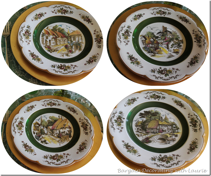 Wood & Sons, England Dinner Plates