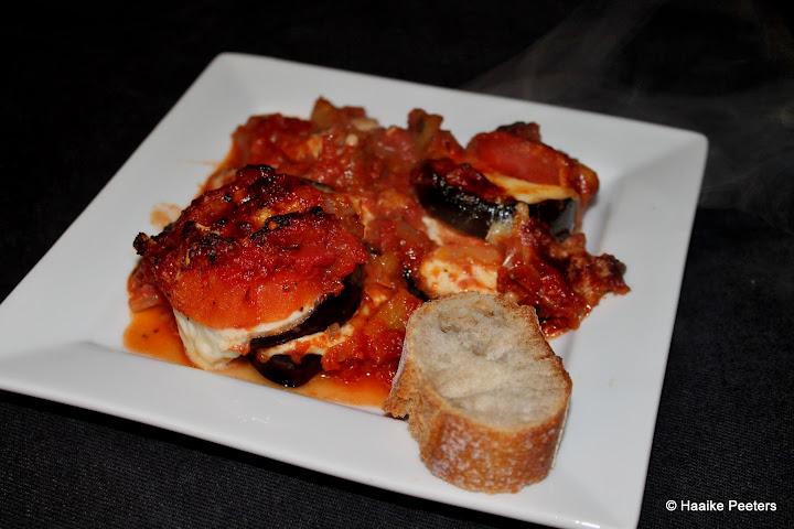 Parmigiana di melanzane (aMuse Rouge)