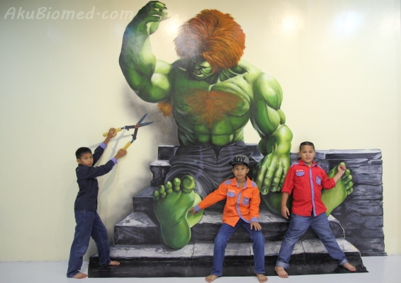 blanka street fighter di Magic Art Museum