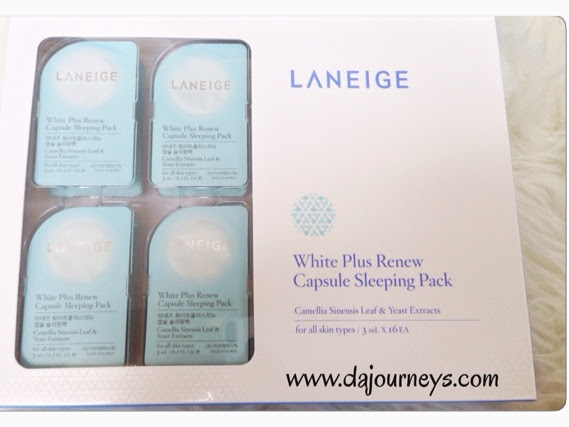 [Review] Laneige White Plus Renew Capsule Sleeping Pack