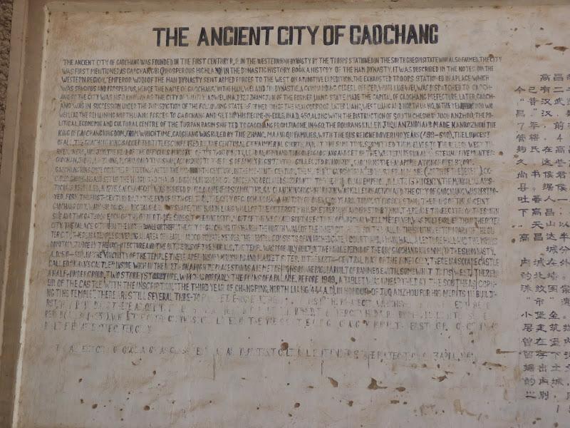 Gaochang Ancient city