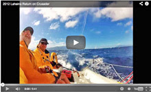 J/80 sailing- off Lahaina, Hawaii offshore