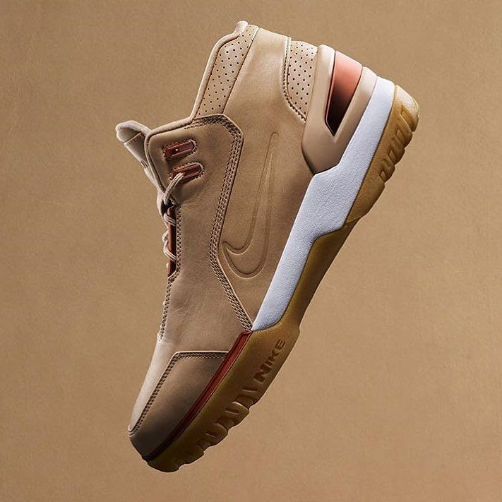 fcb22f9b29400 ... Nike Air Zoom Generation Retro is Part of 5 Decades Basketball  Collection · 308214-200air zoom generationlebron 1 retroretrovachetta tan
