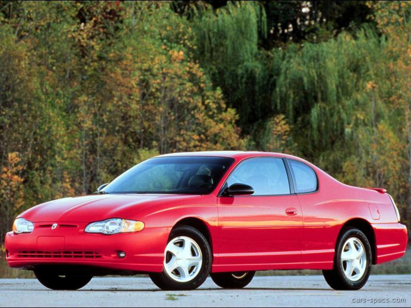 1999 chevrolet monte carlo coupe specifications pictures. Black Bedroom Furniture Sets. Home Design Ideas