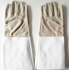 Găng tay da bảo hộ lao động - da cật VN - GTD0007