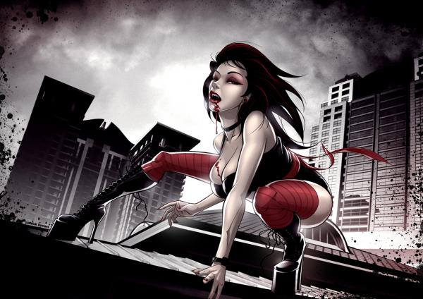 Cartoon Vampire Girl, Vampire Girls 2