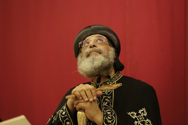 His Holiness Pope Tawadros II visit to St. Mark LA - _09A9088.JPG