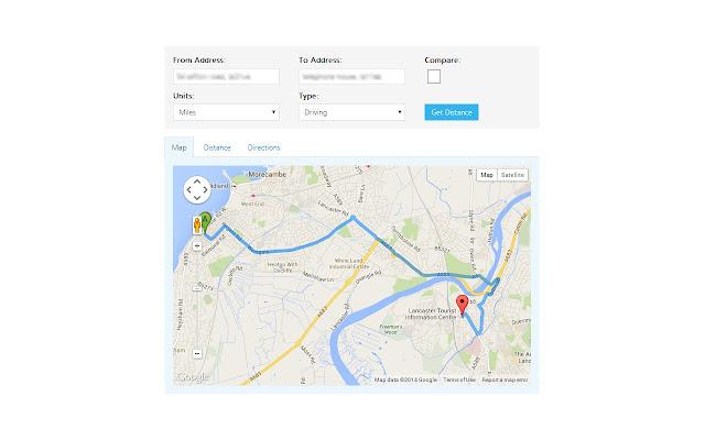 Address Distance Lookup