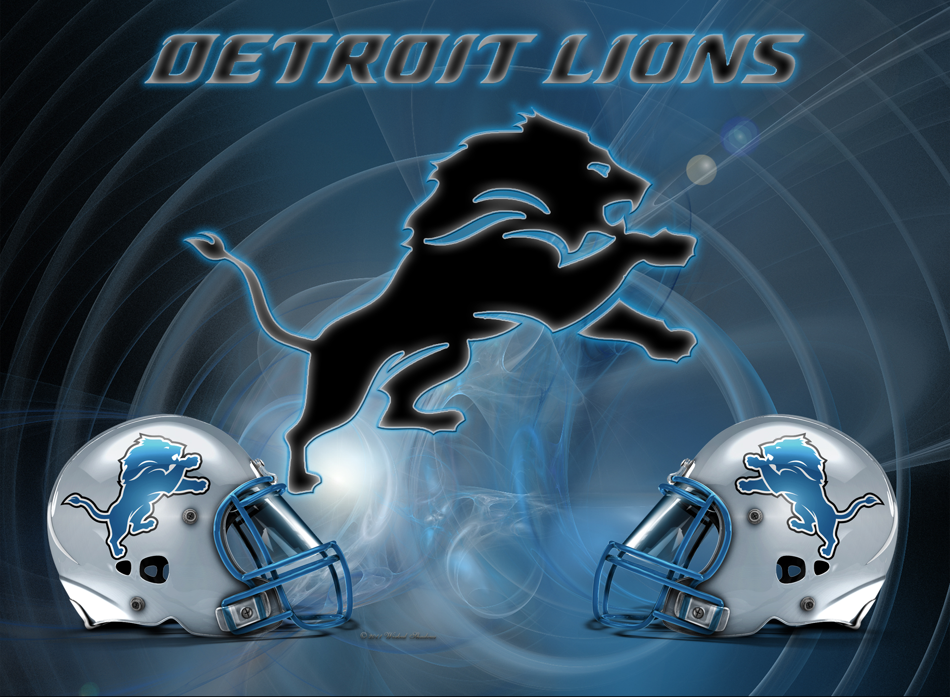Wallpapers by wicked shadows detroit lions wicked wallpaper 2011