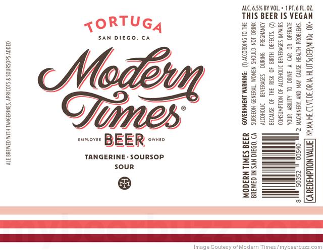 Modern Times Tortuga 22oz Bottles