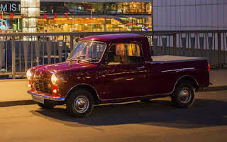 Austin Mini Pickup Rent Stockholm