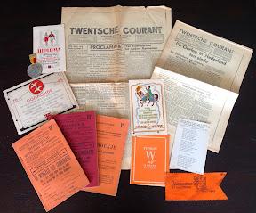 Diverse documenten met betrekking tot de oorlog en de bevrijding van Enschede.