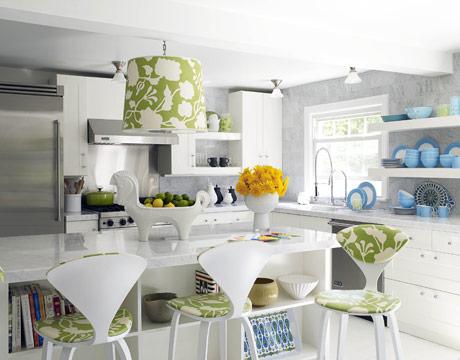 Colorful House Beautiful Kitchens   A Bountiful Kitchen