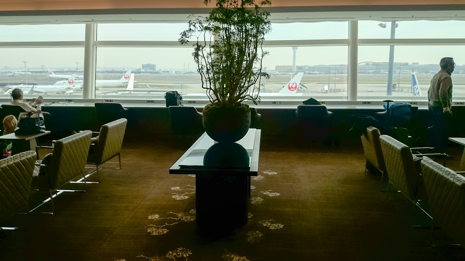 JL%252520F%252520HND LHR 23 - REVIEW - JAL First Class Lounge, Tokyo Haneda Airport