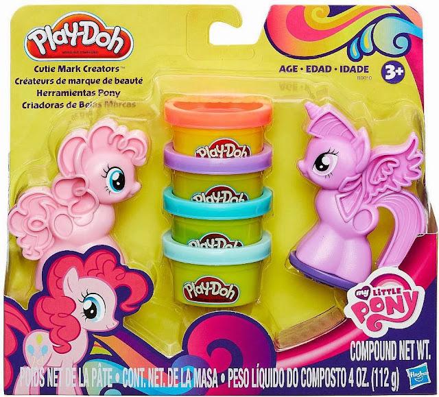 Bột nặn Pony tí hon Cutie Mark Creators B0010 giúp bé thỏa sức sáng tạo nên phong cách riêng cho những chú Pony thời trang này