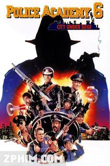 Học Viện Cảnh Sát 6 - Police Academy 6: City Under Siege (1989) Poster