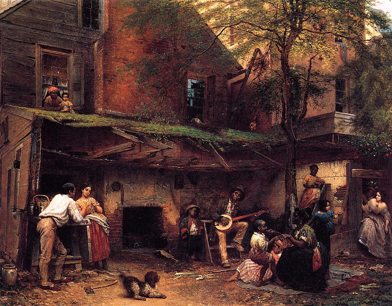 Eastman Johnson - Negro Life in the South
