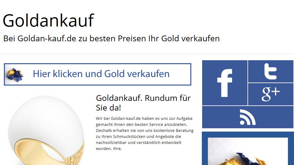 Goldankauf gesucht? Goldan-kauf.de zahlt am besten