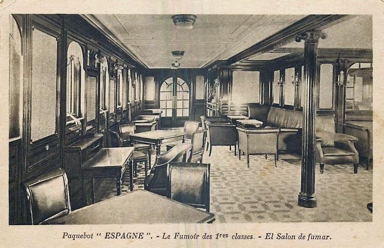 10- Salon fumador de 1ª Clase. Colección Arturo Paniagua.tif
