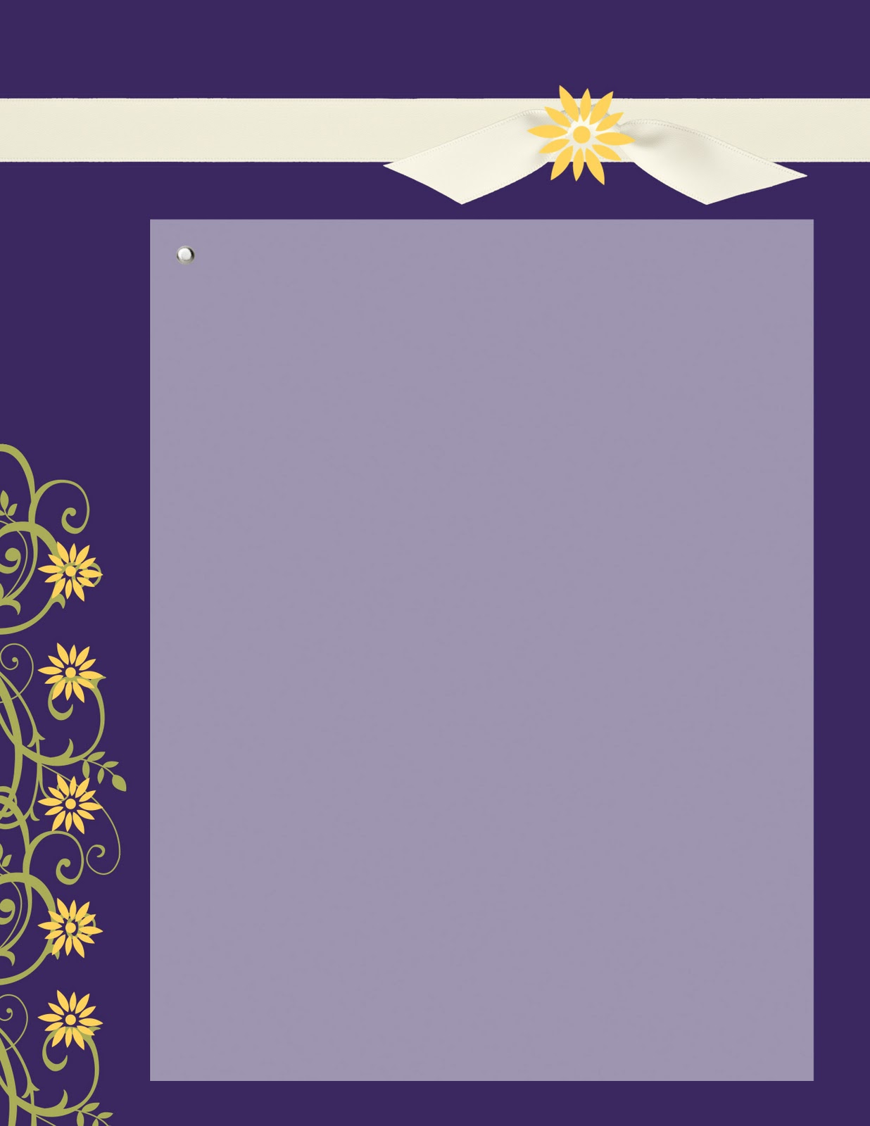 Celebration Creations Wedding Invite Purple And Yellow