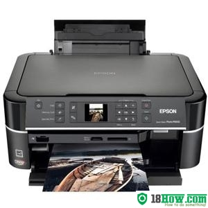 How to reset flashing lights for Epson PX650 printer