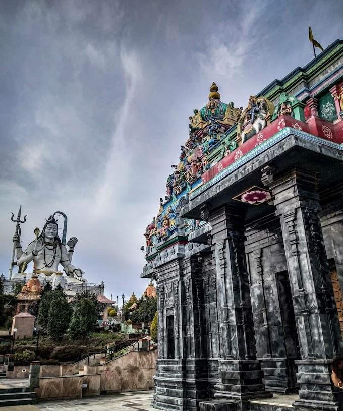 OM NAMAH SHIVAAYA⚜🔱⚜🔱⚜🔱⚜🔱 Mesmerizing Char Dham Mandir located in Namchi, Sikkim.⚜🔱⚜🔱⚜🔱⚜🔱