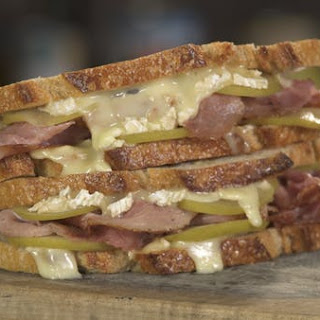 Country Ham, Brie, Pickled Apple Sandwich Recipe