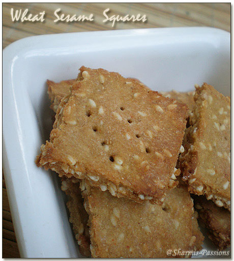 Wheat Sesame Crackers