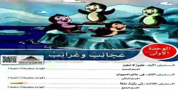 كتاب الأضواء للصف الرابع الابتدائي لغة عربية الترم الثانى 2021 كاملا