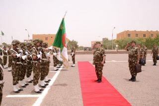 Gaïd Salah dans la 6ème Région militaire à Tamanrasset