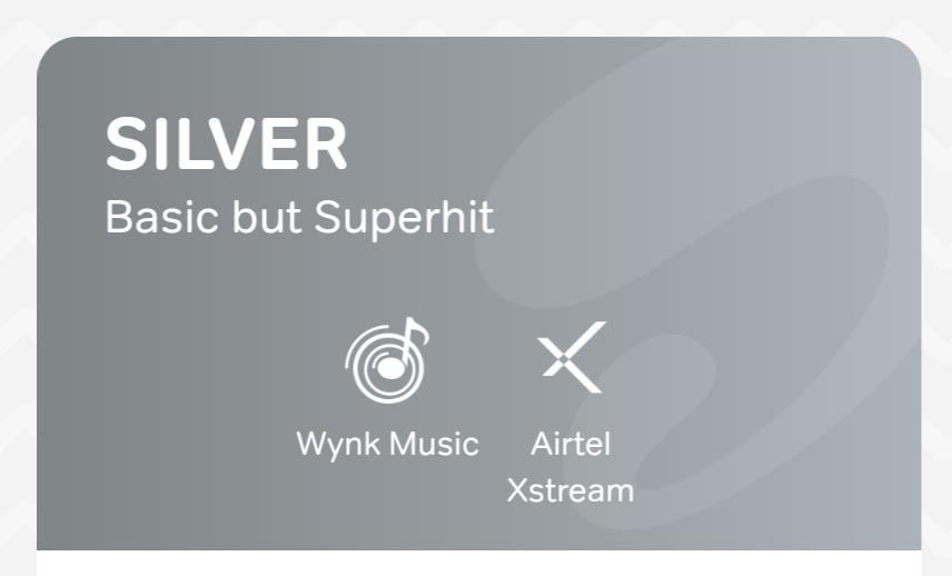 airtel thanks silver