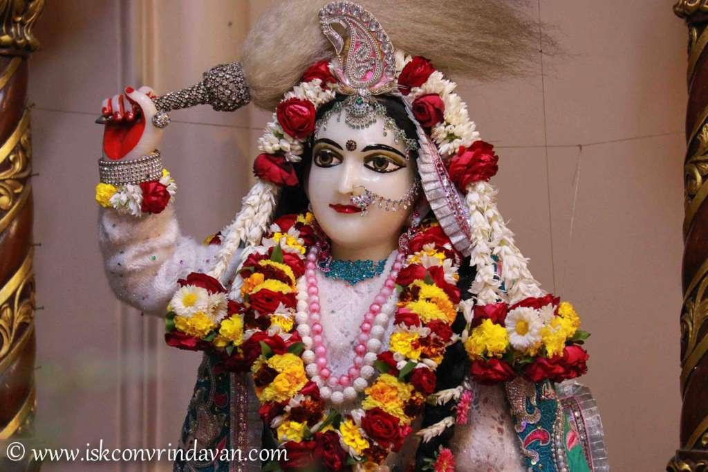 ISKCON Vrindavan Sringar Deity Darshan 17 Dec 2015 (1)