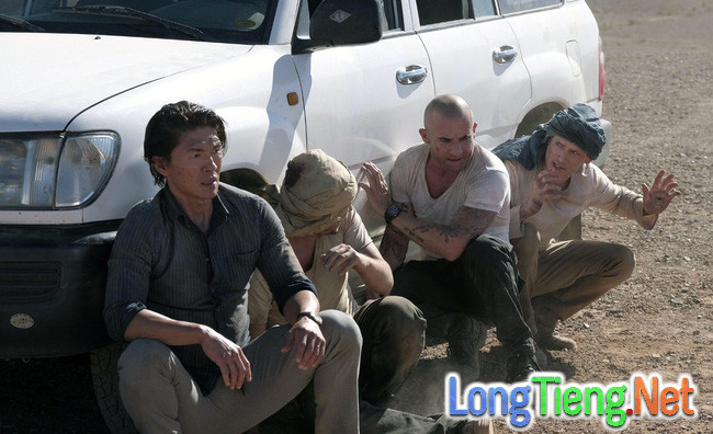 Tập 6 Vượt Ngục mùa 5: Cuộc rượt đuổi nghẹt thở trên sa mạc - Ảnh 1.