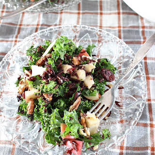 Kale, Apple, and Wild Rice Salad.