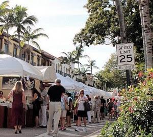 The 20th Annual Naples New Year's Art Fair
