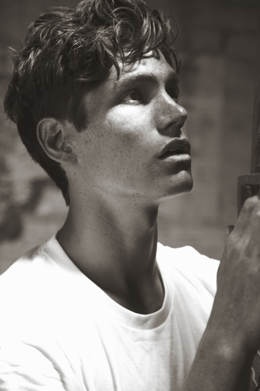 Sam Way @ Models 1 + Wilhelmina by Renie Saliba for Contributor Magazine, Summer 2012