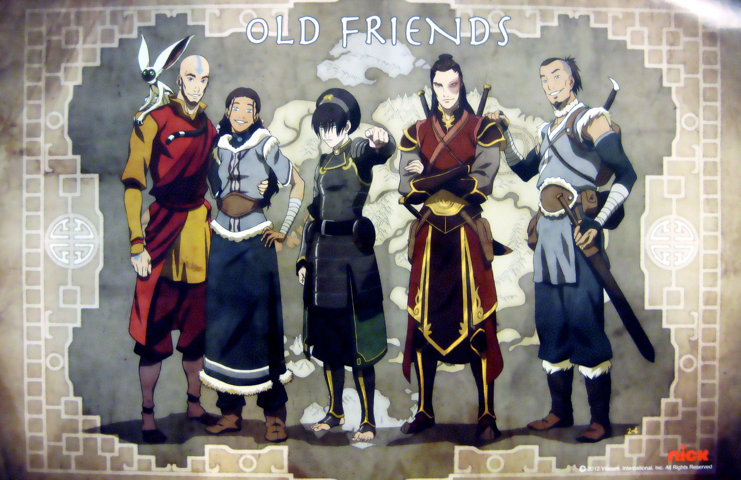 avatar old friends