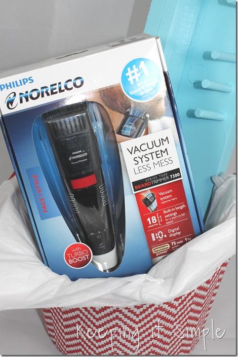 #ad DIY-bathroom-shelf-for-razor-and-beard-trimmer #GiftofPhillips  (18)