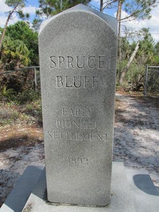 2018-03-11 Florida, Stuart - Spruce Bluff - Gravesite (2)