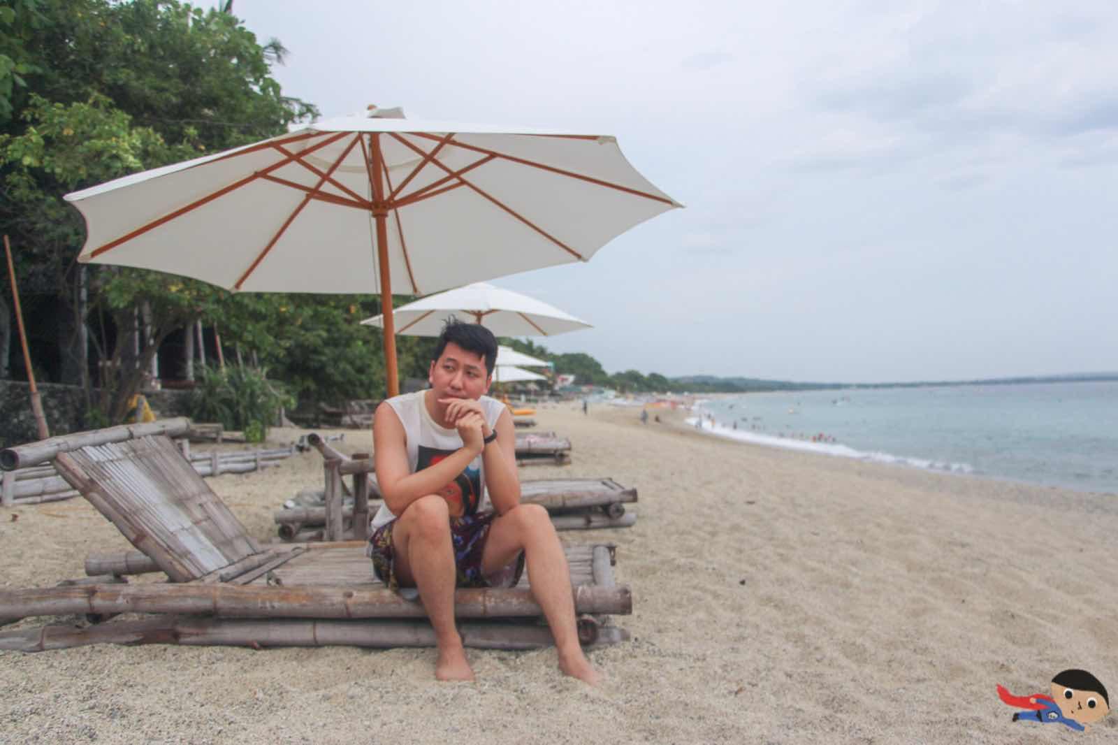Renz Cheng in La Luz Beach Resort