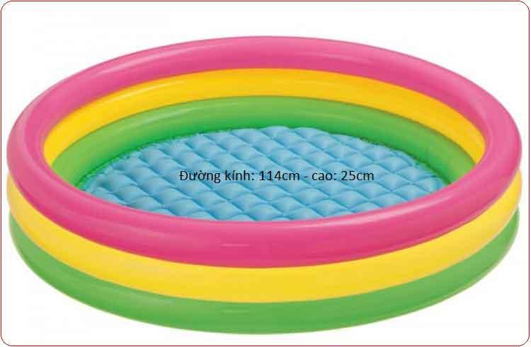 Bể bơi trẻ em Intex 57412 (114cm-25cm).