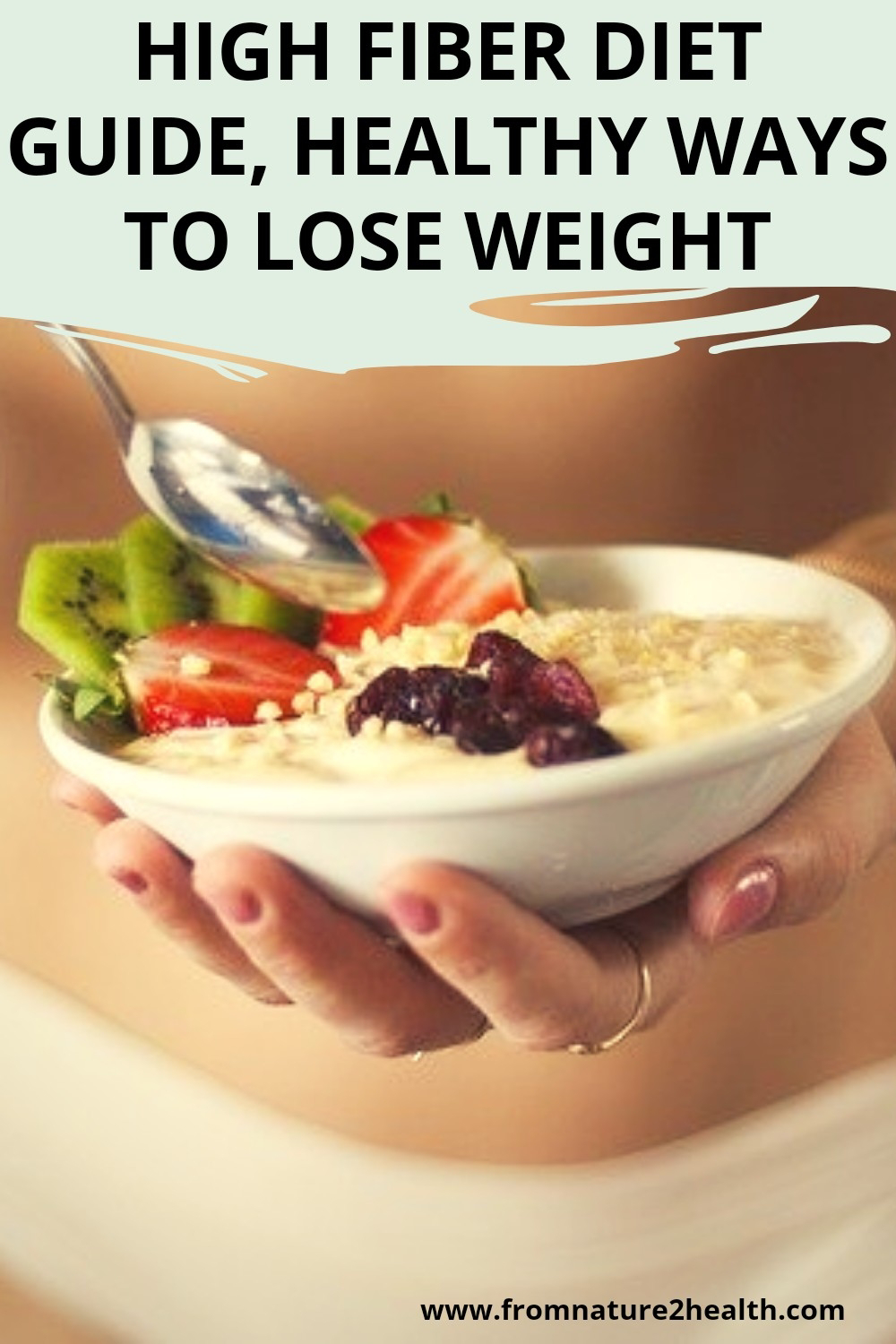 High Fiber Diet Guide, Healthy Ways to Lose Weight