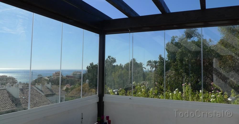 Verglasungssystem Veranda