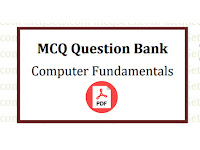 MCQ Question Bank - Computer Fundamentals - Pdf ফাইল
