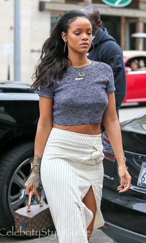 How To Dress Like Rihanna In 2016 Daysofchristmas Day8 Une Fille Morderne