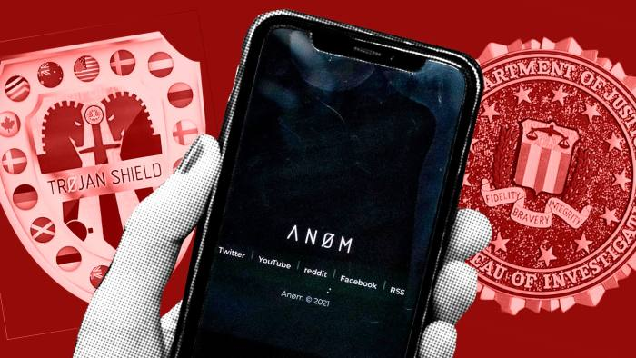 What is ANOM App